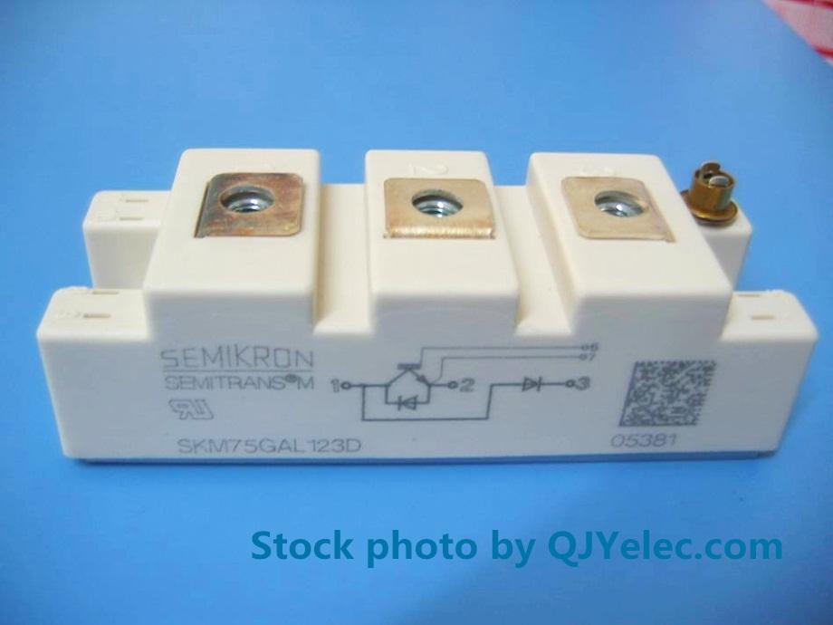 1pcs SEMIKRON SKM75GAL123D Power Module Supply 100 Quality Guarantee for sale online
